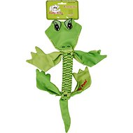 Jolly Pets Flathead Alligator Dog Toy, Medium
