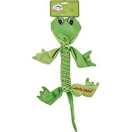 Jolly Pets Flathead Alligator Dog Toy, Large