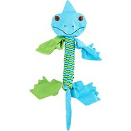Jolly Pets Flathead Iguana Dog Toy, Medium