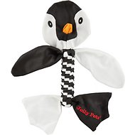 Jolly Pets Flathead Penguin Dog Toy, Medium