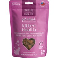 Get Naked Kitten Health Grain-Free Soft Cat Treats, 2.5-oz bag