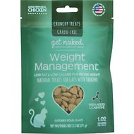 Get Naked Weight Management Grain-Free Crunchy Cat Treats, 2.5-oz bag