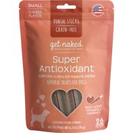 Get Naked Super Antioxidant Grain-Free Dental Chew Sticks Dog Treats, Small