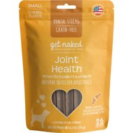 Get Naked Joint Health Grain-Free Dental Chew Sticks Dog Treats, Small
