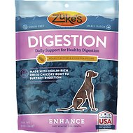 Zuke's Enhance Digestion Peanut Butter & Chickpea Recipe Dog Treats, 5-oz bag