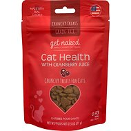 Get Naked Urinary Health Grain-Free Crunchy Cat Treats, 2.5-oz bag