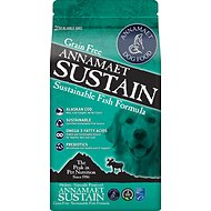 Annamaet Grain-Free Sustain Fish Formula Dry Dog Food, 5-lb bag