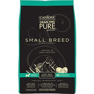 CANIDAE Grain-Free PURE Petite Bison Formula Small Breed Limited Ingredient Diet Dry Dog Food, 3-lb bag