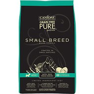 Canidae Grain-Free Limited Ingredient Diet PURE Petite Bison Formula Small Breed Dry Dog Food, 6-lb bag