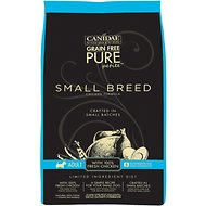Canidae Grain-Free Limited Ingredient Diet PURE Petite Chicken Formula Small Breed Dry Dog Food, 6-lb bag