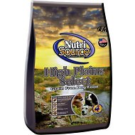 NutriSource High Plains Select with Beef & Trout Grain-Free Dry Dog Food, 30-lb bag