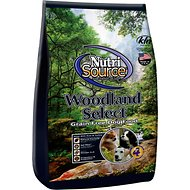 NutriSource Woodlands Select with Boar & Turkey Grain-Free Dry Dog Food, 30-lb bag