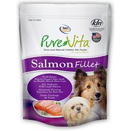 PureVita Salmon Fillet for Dogs, 4-oz bag