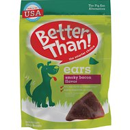Better Than Ears Smoky Bacon Flavor Dog Treats, 36 count