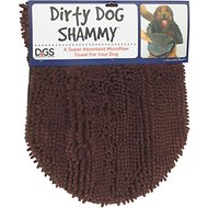 Dog Gone Smart Dirty Dog Shammy Towel, Brown