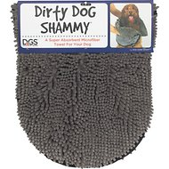 Dog Gone Smart Dirty Dog Shammy Towel, Grey