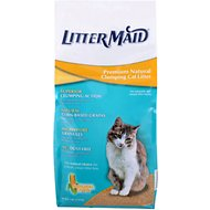 LitterMaid Premium Natural Corn Clumping Cat Litter, 7-lb bag