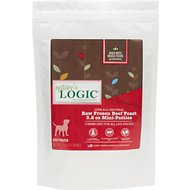 Nature's Logic Beef Feast Raw Frozen Dog Food, Mini, 3-lb bag