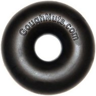 GoughNuts Ring Dog Toy, Black, MaXX
