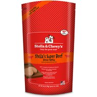 Stella & Chewy's Stella's Super Beef Dinner Patties Raw Frozen Dog Food, 6-lb bag