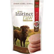 Nature's Variety Instinct Raw Patties Beef Formula Raw Frozen Dog Food, 6-lb bag