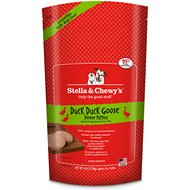 Stella & Chewy's Duck Duck Goose Dinner Patties Raw Frozen Dog Food, 6-lb bag