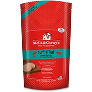 Stella & Chewy's Surf 'N Turf Dinner Patties Raw Frozen Dog Food, 6-lb bag