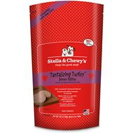 Stella & Chewy's Tantalizing Turkey Dinner Patties Raw Frozen Dog Food, 6-lb bag