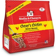 Stella & Chewy's Chewy's Chicken Dinner Morsels Raw Frozen Dog Food, 4-lb bag
