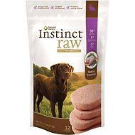 Nature's Variety Instinct Raw Patties Rabbit Formula Raw Frozen Dog Food, 6-lb bag