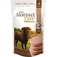 Nature's Variety Instinct Raw Patties Turkey Formula Raw Frozen Dog Food, 6-lb bag
