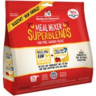 Stella & Chewy's SuperBlends Cage-Free Chicken Recipe Meal Mixers Freeze-Dried Raw Dog Food Topper, 16-oz bag