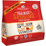 Stella & Chewy's SuperBlends Grass-Fed Beef Recipe Meal Mixers Freeze-Dried Raw Dog Food Topper, 16-oz bag