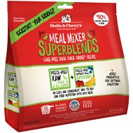 Stella & Chewy's SuperBlends Cage-Free Duck Duck Goose Recipe Meal Mixers Freeze-Dried Raw Dog Food Topper, 16-oz bag