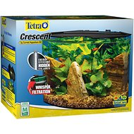 Tetra Crescent Aquarium Kit, 5-gal