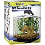 Tetra Water Wonders Black Aquarium Kit, 1.5-gal