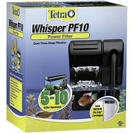 Tetra Whisper Aquarium Power Filter, 5-10 gal