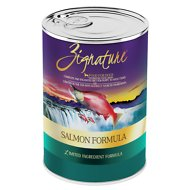Zignature Salmon Limited Ingredient Formula Grain-Free Canned Dog Food, 13-oz, case of 12