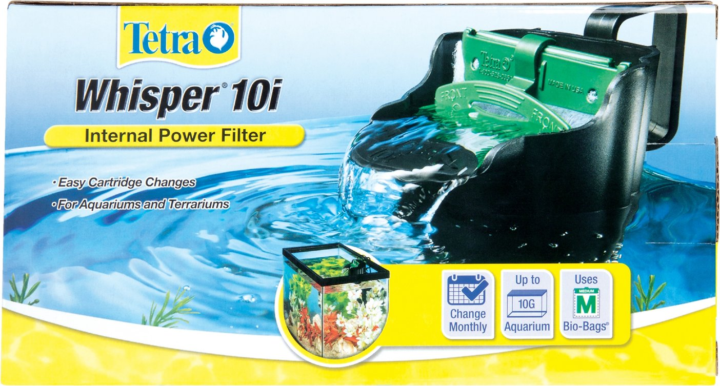 Tetra whisper internal power filter with bioscrubber for for Amazon fish tank filter