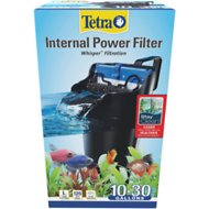 Tetra Whisper Internal Aquarium Power Filter with BioScrubber, 10-20 gal