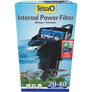 Tetra Whisper Internal Power Filter with BioScrubber for Aquariums, 20 - 40 gallon