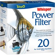 Tetra Whisper Aquarium Power Filter, 10-20 gal