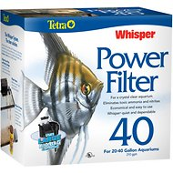 Tetra Whisper Aquarium Power Filter, 20-40 gal