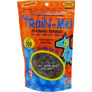 Crazy Dog Train-Me! Minis Salmon Flavor Dog Treats, 4-oz bag
