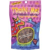 Crazy Dog Train-Me! Beef Flavor Dog Treats, 4-oz bag