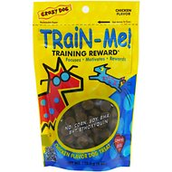 Crazy Dog Train-Me! Chicken Flavor Dog Treats, 4-oz bag