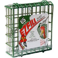 C&S Ez Fill Suet Basket Wild Bird Feeder, 7-inch