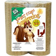 C&S Sweet Corn Squirrelog Refill Squirrel Food, 32-oz