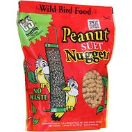 C&S Peanut Suet Nuggets Wild Bird Food, 1.68-lb bag