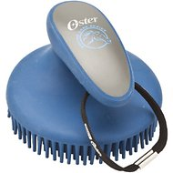Oster Equine Care Fine Curry Horse Comb, Blue